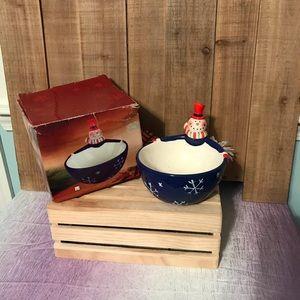 Other - Holiday Season Candy Decor Snowman ⛄️ Decor Dish